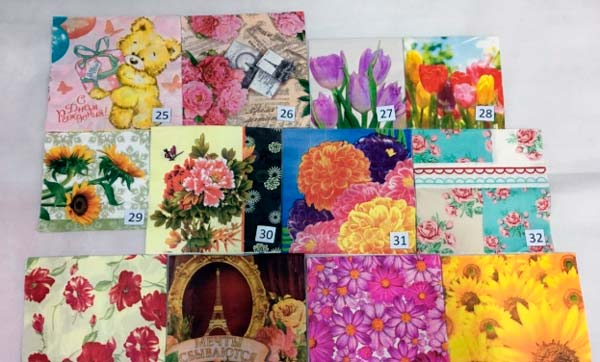servilletas papel decoupage