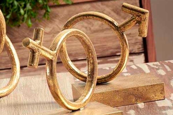 sujetalibros símbolos sexos