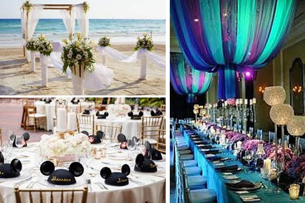 Las mejores ideas para bodas temáticas