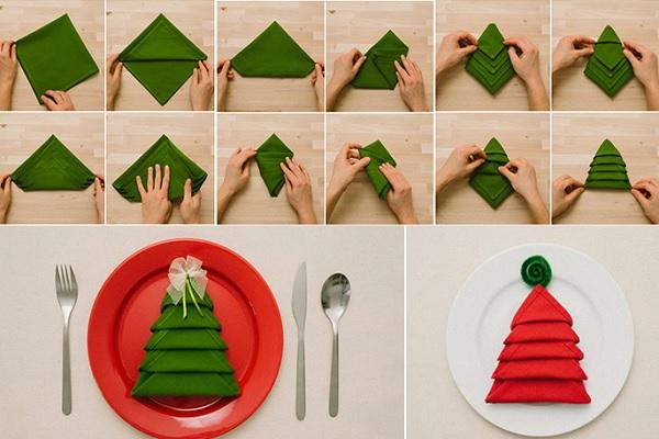 Decoración para platos estas Navidades