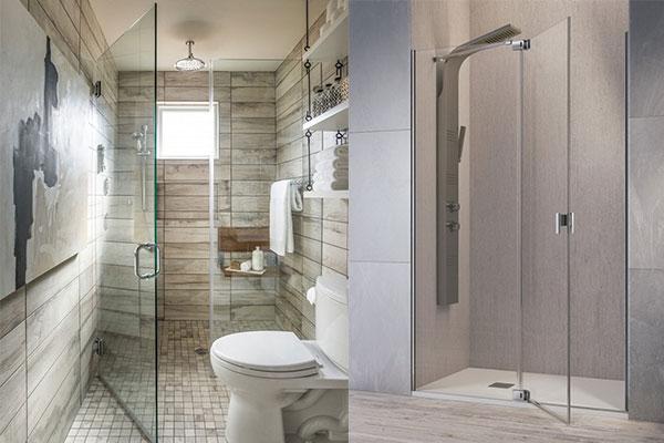 ideas para baños con ducha