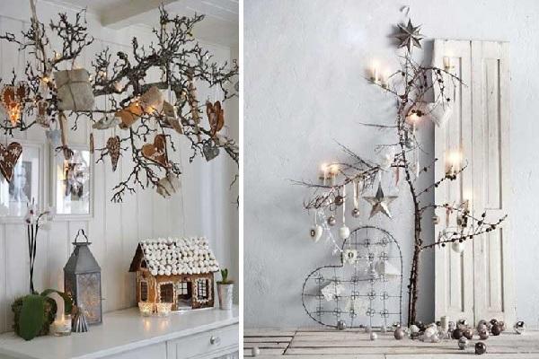 Ideas de decoración navideña escandinava
