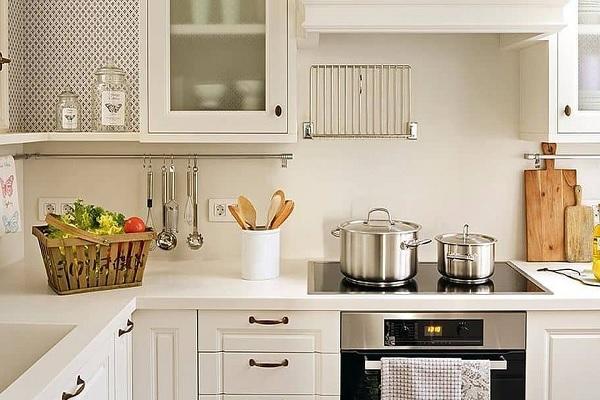 Geniales ideas para cocinas pequeñas