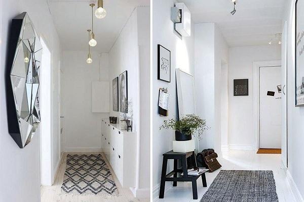Ideas increíbles para decorar pasillos estrechos