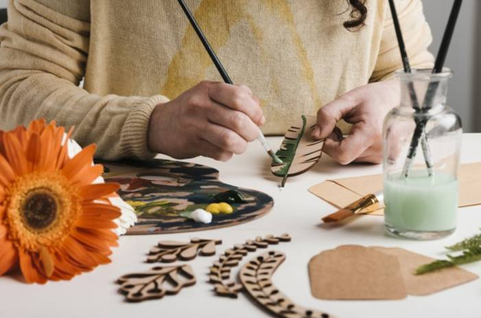pinturas para hacer manualidades